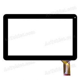 WJ-DR10029/30-FPC Digitizer Touch Screen Replacement for 10.1 Inch MID Tablet PC