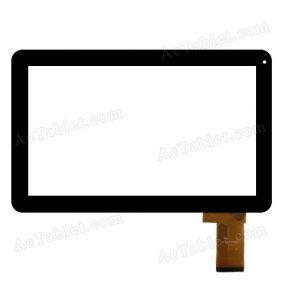 DH-1007A1-FPC033 Digitizer Touch Screen Replacement for 10.1 Inch MID Tablet PC