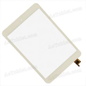 80701-0A4713E Digitizer Glass Touch Screen Replacement for 7.9 Inch Tablet PC