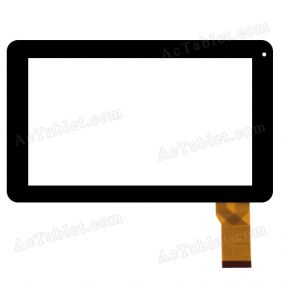FHF090008 Digitizer Glass Touch Screen Replacement for 9 Inch MID Tablet PC