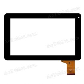 MF-358-090F-2 Digitizer Glass Touch Screen for 9 Inch Allwinner A13 MID Tablet PC Replacement