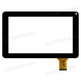 "Replacement Touch Screen for Nobis NB09 NB09k Dual Core 9"" Tablet  PC - Digitizer Glass Panel"