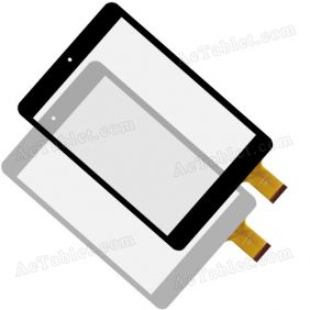 MF-500-079F-3 FPC Replacement Touch Screen Digitizer Glass Panel for 7.9 7.85 InchTablet PC