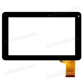 MF-393-090F-2 FPC JC:340 Digitizer Touch Screen Panel Replacement for 9 Inch MID Tablet PC
