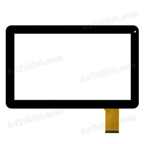 QSD E-C10068-01 Digitizer Touch Screen Replacement for 10.1 Inch MID Tablet PC