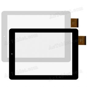 DPT 300-L4708A-A00 Digitizer Glass Touch Screen Panel Replacement for 9.7 Inch Android Tablet PC