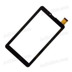 JY123FPC-V0 VO Digitizer Touch Screen Panel Replacement for 3G 7 Inch MID Tablet PC