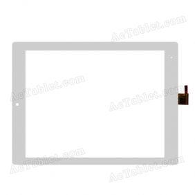 Replacement Touch Screen for Yuandao Vido M11 RK3188 Quad CoreTablet PC 9.7 Inch