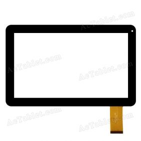 JQ10001FP Digitizer Touch Screen Replacement for 10.1 Inch MID Tablet PC