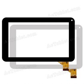 MF-309-070F-G Digitizer Glass Touch Screen Replacement for 7 Inch MID Tablet PC