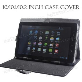 Leather Case Cover for Ployer MOMO10W Z3735F Quad Core 10.1 Inch Tablet PC