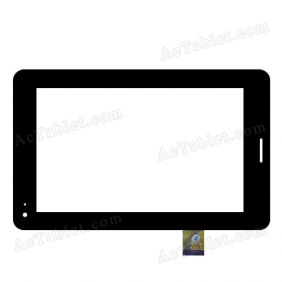 TPC1219 VER1.0 Digitizer Glass Touch Screen Replacement for 7 Inch MID Tablet PC