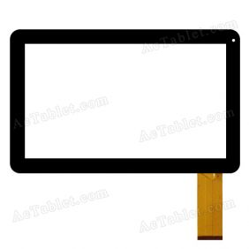 MJK-0120 /2013.09.07 Digitizer Touch Screen Replacement for 10.1 Inch MID Tablet PC
