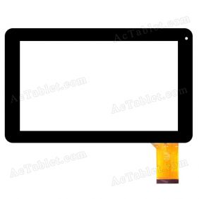 QSD E-C9005-03 Digitizer Glass Touch Screen for 9 Inch A13 MID Tablet PC Replacement