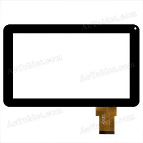 300-N3849M-A00-V1.0 MHS Touch Screen for Hipstreet FLARE 2 9 inch AML8726 MID Tablet PC