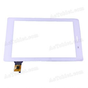 Touch Screen Replacement for Teclast G17 MT8389 Quad Core 7 Inch Tablet 070367-01A-V1