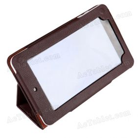 Leather Case Cover for Teclast P75 A31s Quad Core Tablet PC 7 Inch