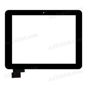 HOTATOUCH C148195A1 DRFPC138T-V1.0 Digitizer Glass Touch Screen Replacement for 8 Inch MID Tablet PC