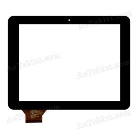 C195150A7-DRFPC182T-V1.0 Digitizer Glass Touch Screen Replacement for 8 Inch MID Tablet PC