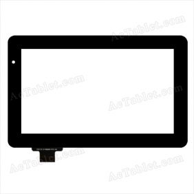 Digitizer Touch Screen Replacement for Argom Tech T9002 T9000 7 Inch MID Tablet PC