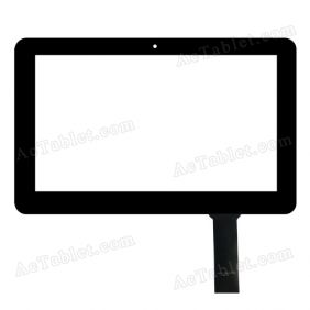 AD-C-100877-FPC Digitizer Glass Touch Screen Replacement for 10.1 Inch MID Tablet PC