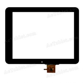 C237180A1-GG FPC613DR Digitizer Glass Touch Screen Replacement for 9.7 Inch MID Tablet PC