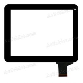 HOTATOUCH C183236F2 DRFPC162T-V2.0 Digitizer Glass Touch Screen Replacement for 9.7 Inch MID Tablet PC
