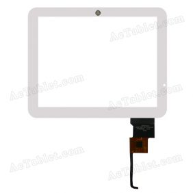 HOTATOUCH C230179A1-GG FPC641DR Digitizer Glass Touch Screen Replacement for 9.7 Inch MID Tablet PC