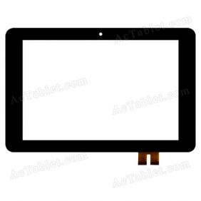 20130427A Digitizer Glass Touch Screen Replacement for 10.1 Inch MID Tablet PC