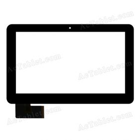 HOTATOUCH C162260A1-DRFPC173T-V1.0 Digitizer Glass Touch Screen Replacement for 10.1 Inch MID Tablet PC