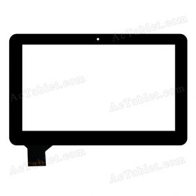 HOTATOUCH C160259A1-DRFPC160T-V1.0 Digitizer Glass Touch Screen Replacement for 10.1 Inch MID Tablet PC
