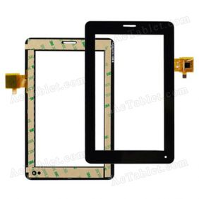 YJ036FPC-V0 YJ037FPC-V0 Digitizer Glass Touch Screen Replacement for 7 Inch MID Tablet PC