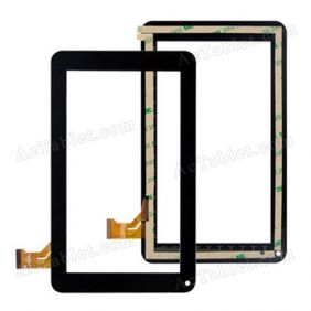 CZY6347B01-FPC Digitizer Glass Touch Screen Replacement for 7 Inch MID Tablet PC