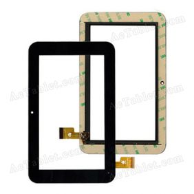TPC0185 VER4.0 Digitizer Glass Touch Screen Replacement for 7 Inch MID Tablet PC
