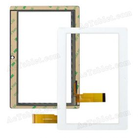 FHF070030-40 Digitizer Glass Touch Screen Replacement for 7 Inch MID Tablet PC