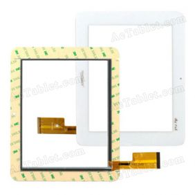 TPC0156 VER3.0 Digitizer Glass Touch Screen Replacement for 8 Inch MID Tablet PC