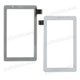 P1000 BITE-FPC-GP10007 Digitizer Glass Touch Screen Replacement for 7 Inch MID Tablet PC