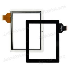 300-L3312A-A00-V1.0 Digitizer Glass Touch Screen Replacement for 9.7 Inch MID Tablet PC