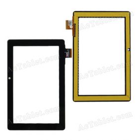 300-N4163A-B00-V1.0 Digitizer Glass Touch Screen Replacement for 7 Inch MID Tablet PC