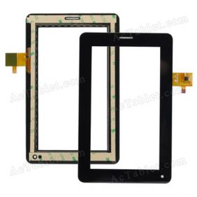 YJ031FPC-V0 Digitizer Glass Touch Screen Replacement for 7 Inch MID Tablet PC