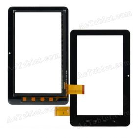 AD-C-700026-2-FPC Digitizer Glass Touch Screen Replacement for 7 Inch MID Tablet PC