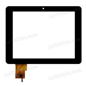 PB97DR8185 Digitizer Glass Touch Screen Replacement for 9.7 Inch MID Tablet PC