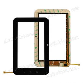 WGJ7101-V3 Digitizer Glass Touch Screen Replacement for 7 Inch MID Tablet PC