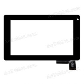 HOTATOUCH C097162A1 DRFPC065T-V1.0 Digitizer Glass Touch Screen Replacement for 7 Inch MID Tablet PC