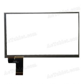 C098162A1 DRFPC044T-V2.0 Digitizer Glass Touch Screen Replacement for 7 Inch MID Tablet PC