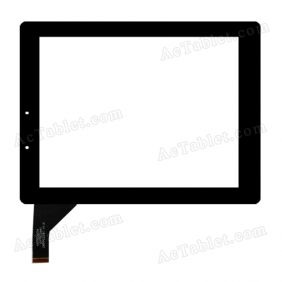 HOTATOUCH C179234A1 DRFPC054T-V1.0 Digitizer Glass Touch Screen Replacement for 9.7 Inch MID Tablet PC