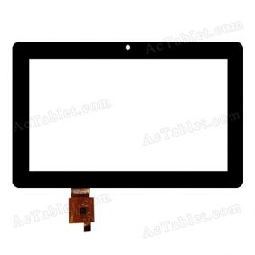 HOTATOUCH C180114A1-GG FPC646DR-02 Digitizer Glass Touch Screen Replacement for 7 Inch MID Tablet PC