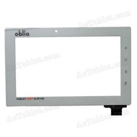HOTATOUCH C113182A1 DRFPC045T-V1.0 Digitizer Glass Touch Screen Replacement for 7 Inch MID Tablet PC