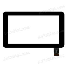 HOTATOUCH C186111A1-PG FPC681DR-02 Digitizer Glass Touch Screen Replacement for 7 Inch MID Tablet PC