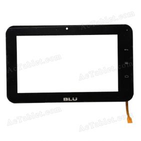 TP070020-00 Digitizer Glass Touch Screen Replacement for 7 Inch MID Tablet PC